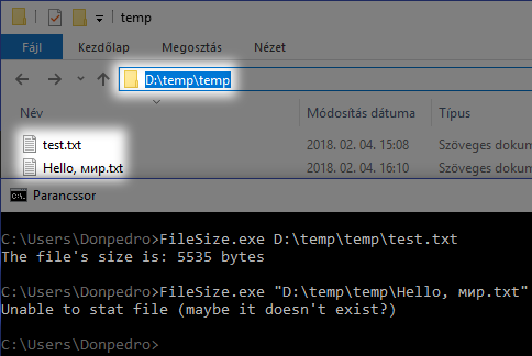 If you ship your library/application to Windows, please use